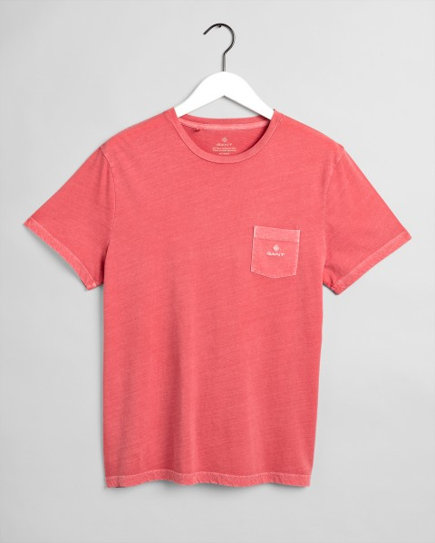 Gant T-shirt Sunfaded rood 2053006-640