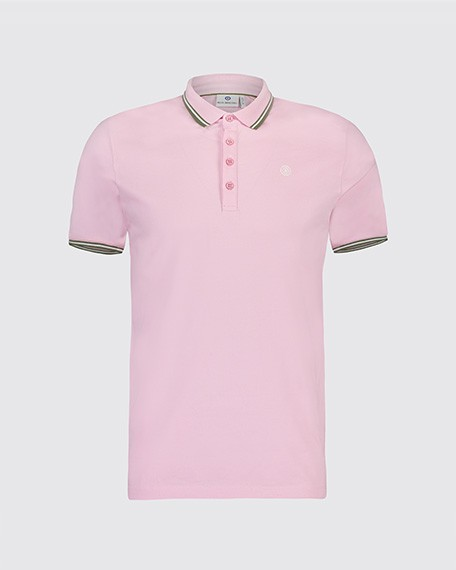 Blue Industry polo roze KBIS19.M21