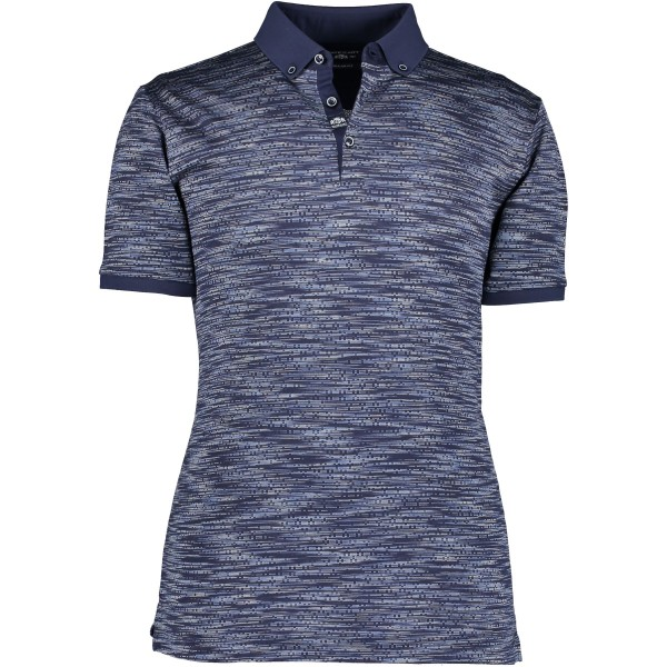 State of Art polo korte mouw blauw 10569-5851