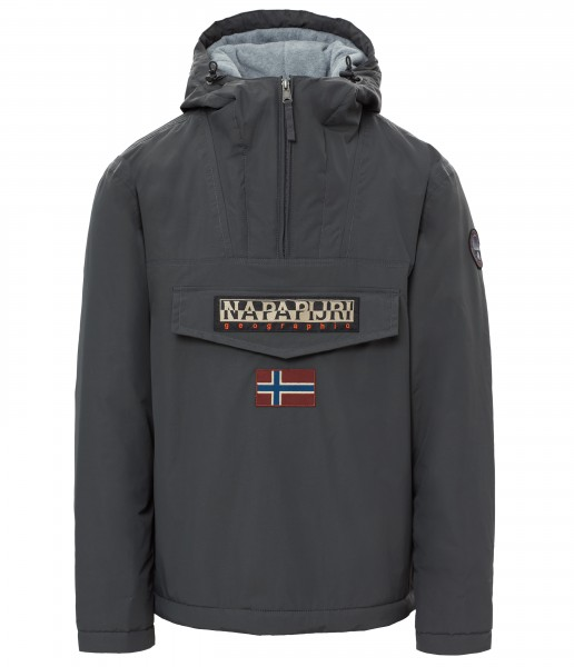 Napapijri Rainforest Anorak Jacket Dark Grey