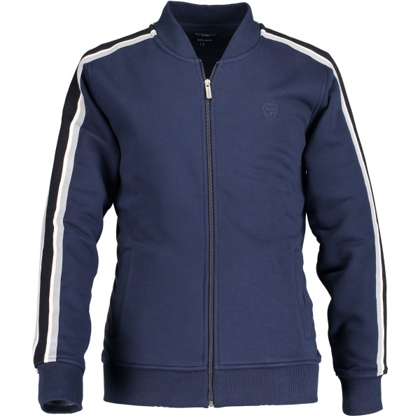 State of Art sweat vest donkerblauw 19478