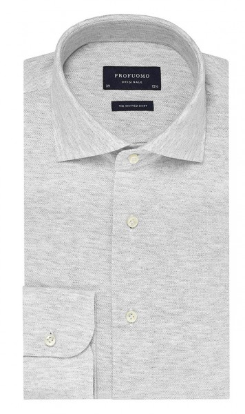 Profuomo Originale The Knitted shirt Grey PP0H0A042