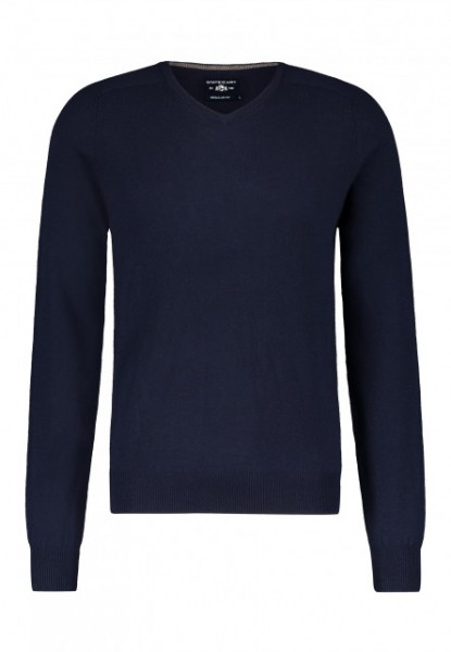 State of Art pullover V-hals donkerblauw 20051