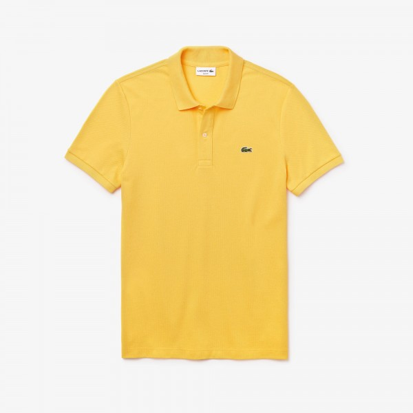 Lacoste polo geel Slim fit PH4012-Z0A