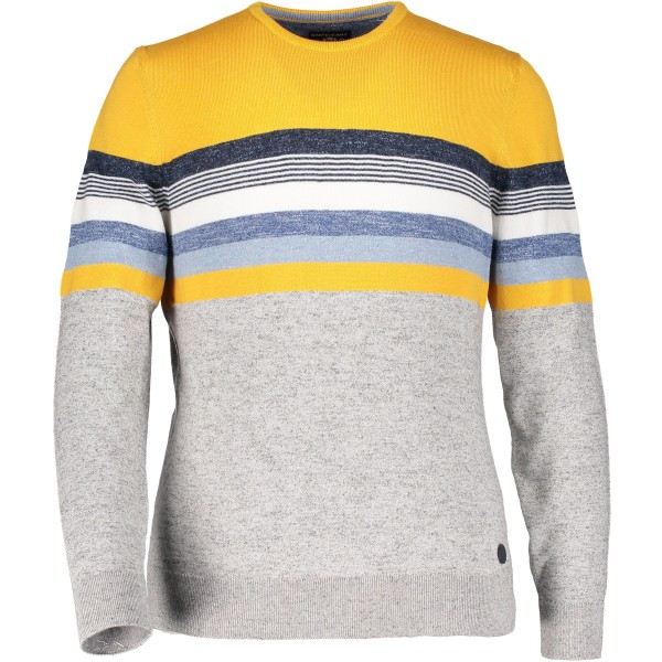 State of Art pullover streep geel 19383-9122
