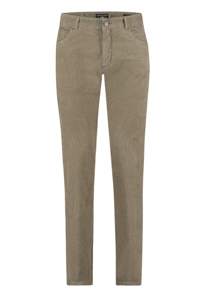 State of Art 5 pocket broek rib beige 20429