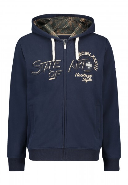 State of Art sweatvest navy 20402