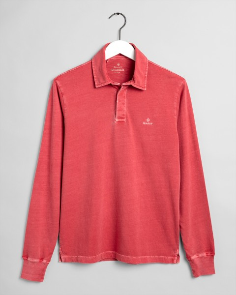 Gant sweater heren sunfaded rood 2055002-640