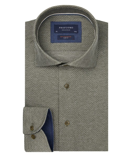 Profumo originale The Knitted shirt print groen ppqh3a1106