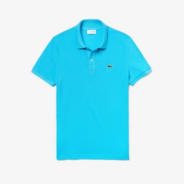 Lacoste Slim-fit polo pique turquoise ph4012