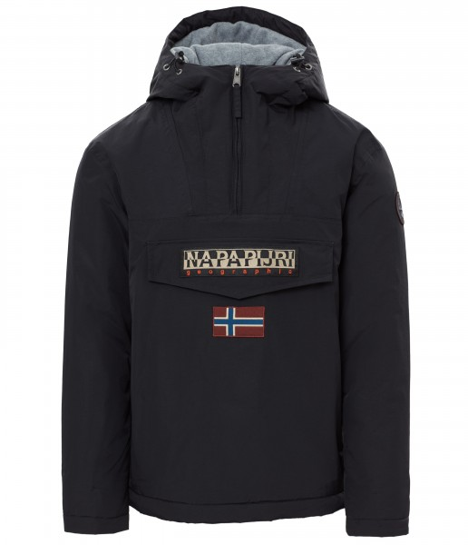 Napapijri Rainforest Anorak Jacket Black