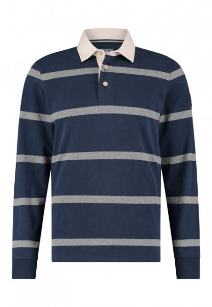State of Art rugby shirt blauw 20389