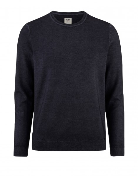 Olymp level 5 Body fit pullover grijs 535045-67