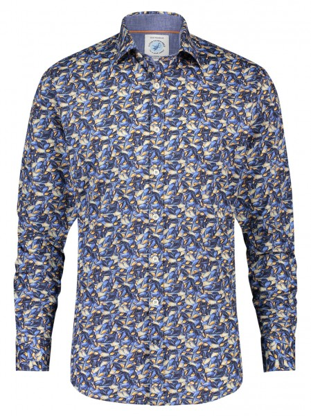 A Fish named Fred shirt mussels blue 23.01.012