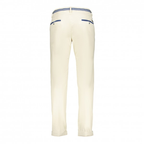 Masons broek chino Torino Elegance off white 9pn2r4593n3me303-493