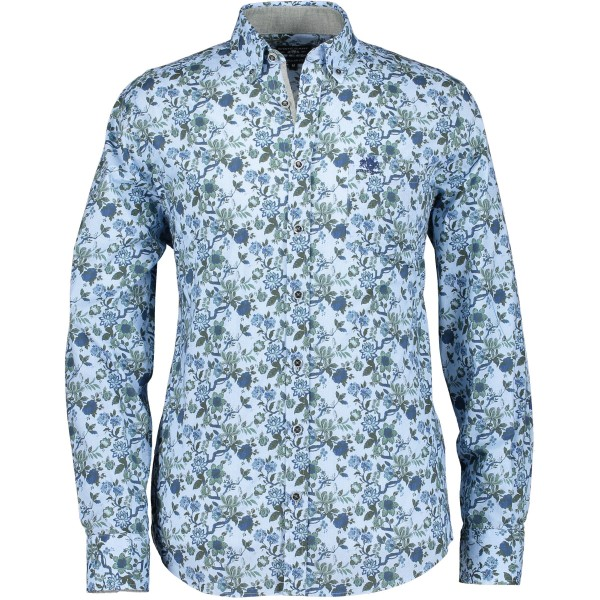 State of Art overhemd shirt groen 29126-3657