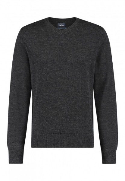 State of Art pullover wol antraciet 20115