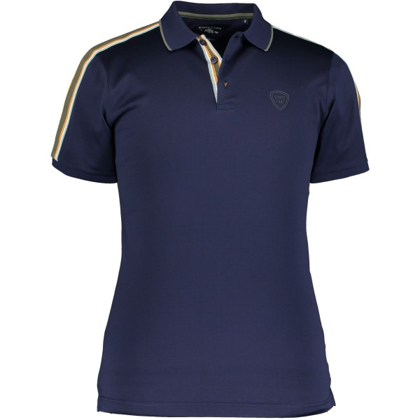 State of Art polo korte mouw donkerblauw 10576-5837