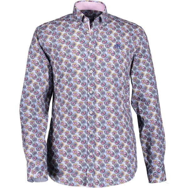 State of Art overhemd shirt print 29119-6957