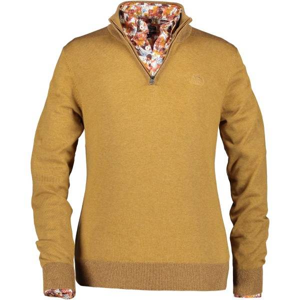 State of Art pullover rits geel 29851-8484