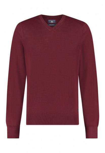 State of Art pullover wol mix bordeaux 20115