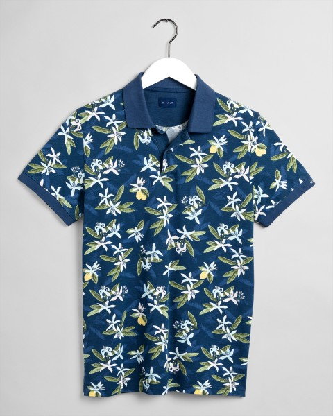 Gant polo Lemon Flower print pique 2022076-461