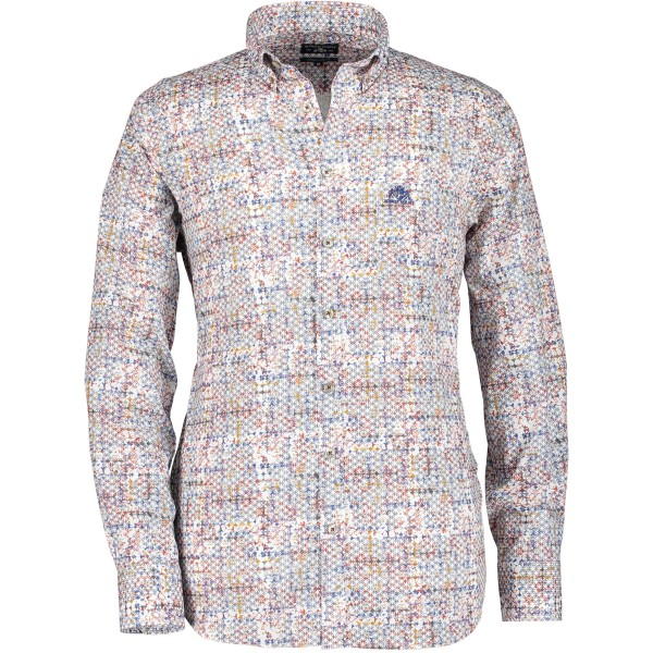 State of Art overhemd shirt print rood 29857-1149