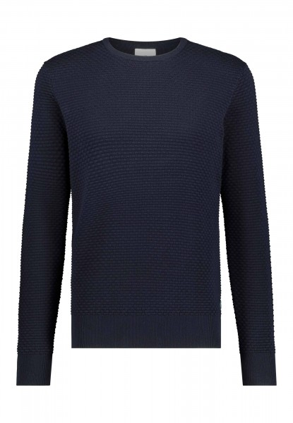 State of Art pullover ronde hals navy 11121000