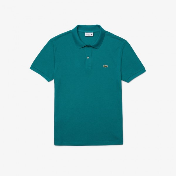 Lacoste Slim-fit polo pique groen ph4012