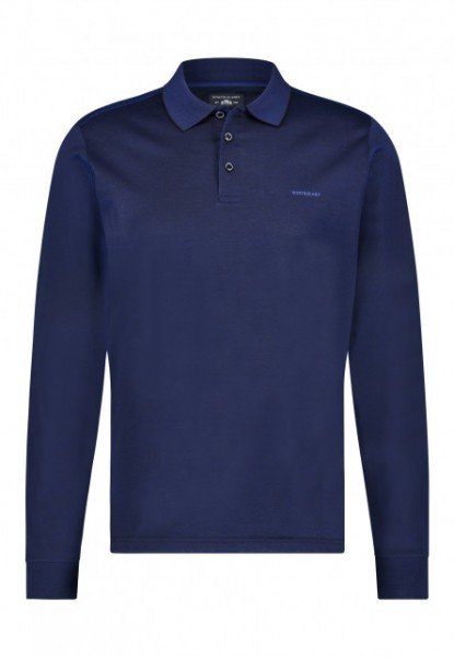 State of Art polo lang mouw blauw 11576