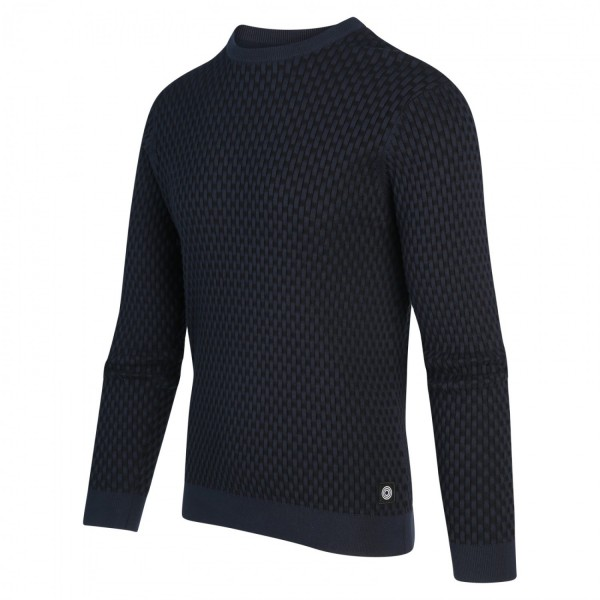 Blue Industry pullover trui ronde hals bottle green