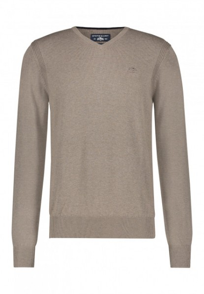State of Art pullover v-hals naturel 20093