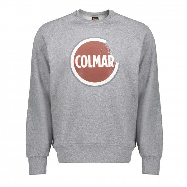Colmar sweater logo grijs Mood